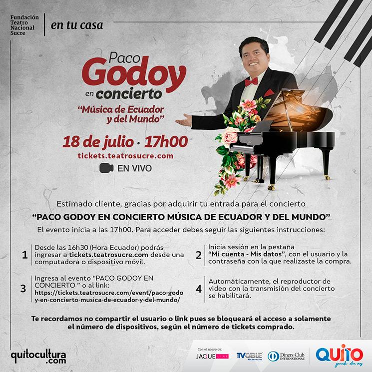 Indicaciones Paco Godoy